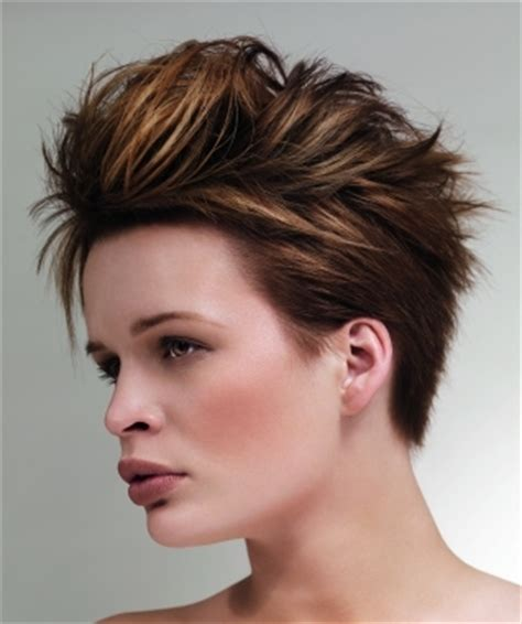 short hairstyles for women with side burns chic short mohawk hair styles for summer