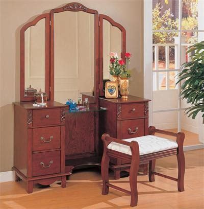 Bedroom Furniture Sets With Dressing Table Cherry Dressing Table Set Traditional Bedroom Makeup