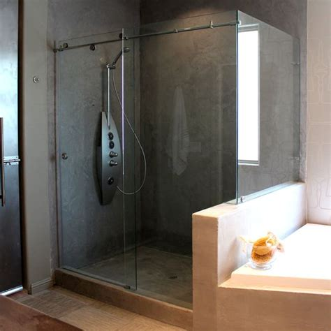 Cardinal Glass Shower Doors Design Journal Archinterious Skyline Series Enclosure By Cardinal Shower Enclosures