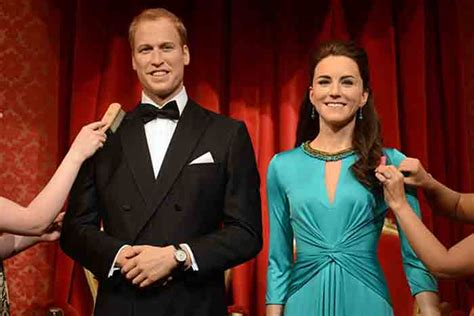 Wax Kate Unveiled by Prince William And Kate Middleton S Wax Figures Unveiled