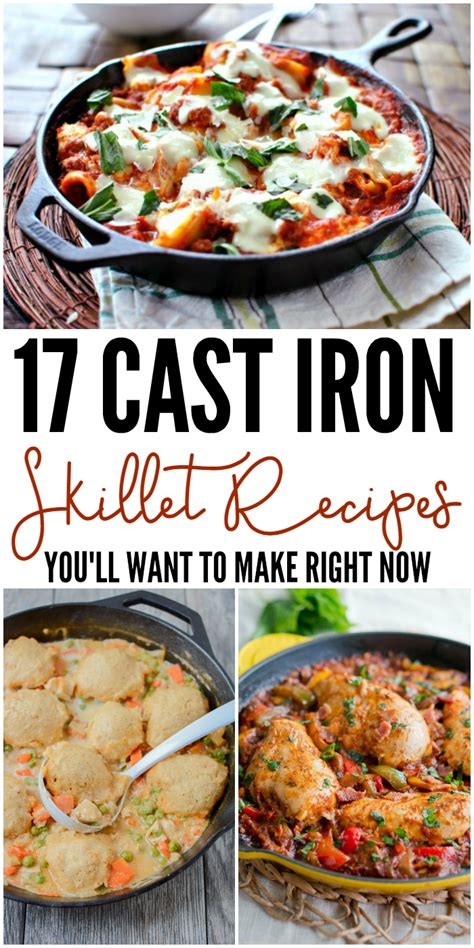 17 cast iron skillet recipes you ll want to make right now