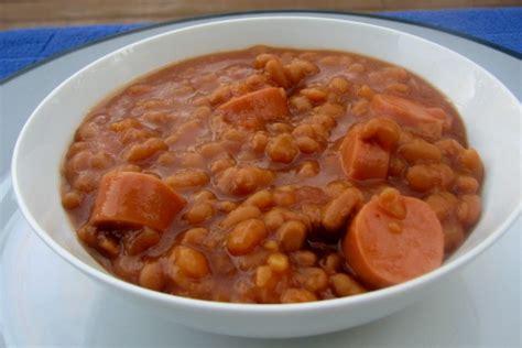 pork and beans pork n beans and wienies recipe food com