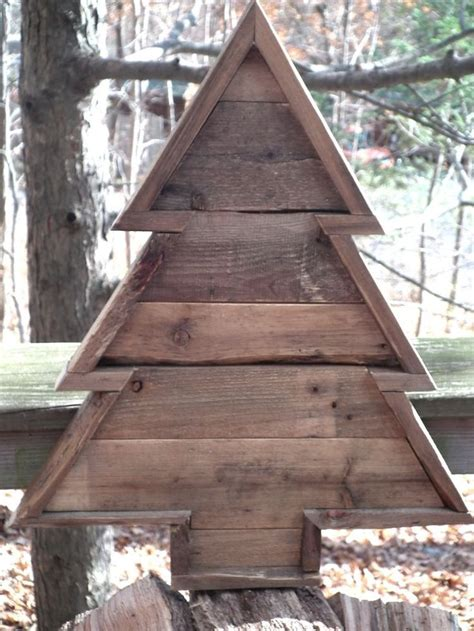 reclaimed pallet wood christmas tree 20 quot tall