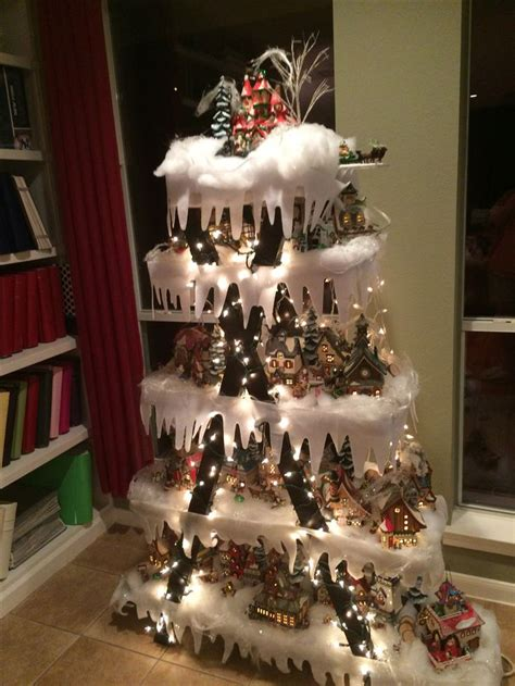 25 best ideas about christmas village display on