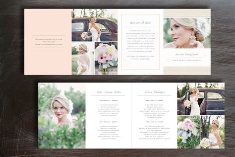 photography brochure templates free pricing guide photography brochure templates on creative