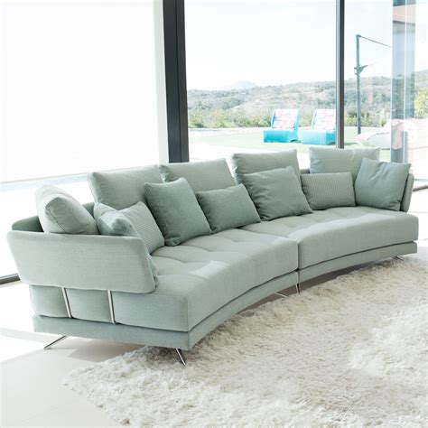 Sofa Uk by Fama Pacific Curved Modular Sofa Fabric Sofas Cookes