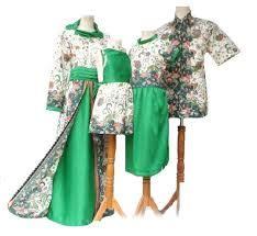 desain baju batik keluarga 25 model baju couple keluarga 2 anak modern 2018 resmi