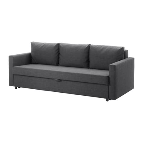 grey sofa bed ikea friheten three seat sofa bed skiftebo dark grey ikea