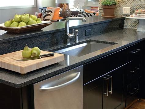 Solid Black Countertops black solid surface countertop one day