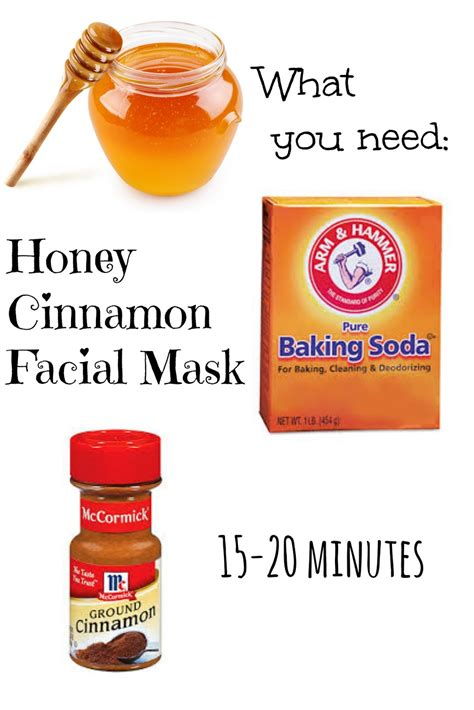 diy honey mask honey cinnamon mask a you can eat