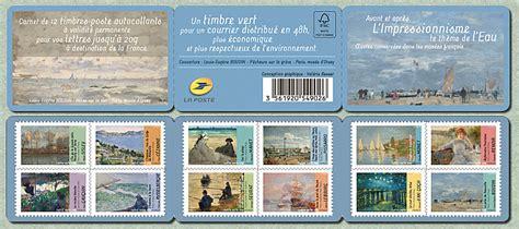 timbre 2013 les petits bonheurs carnet avant et apr 232 s l 180 impressionnisme l 180 impressionnisme et l 180 eau timbre de 2013