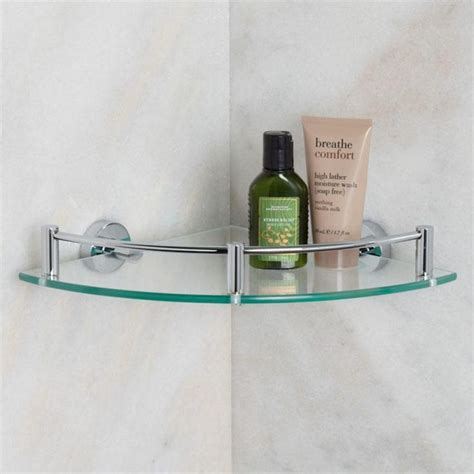 small glass bathroom shelf best 20 glass corner shelves ideas on pinterest glass