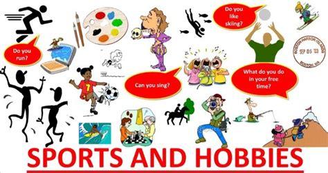 hobbies com sports and hobbies vocabulary my caelab