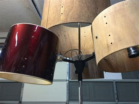 How To Make A Paper Drum Set - how to make a drum set chandelier at home
