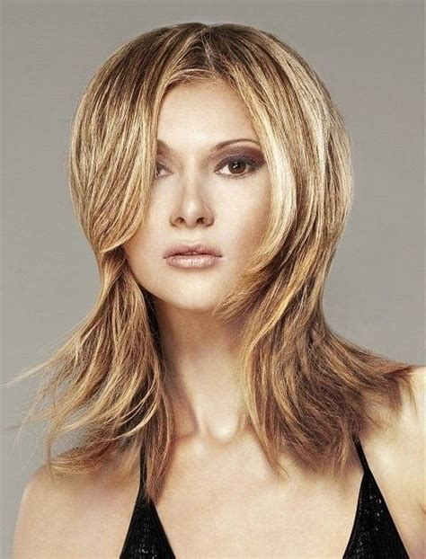 shag haircuts for heartshape faces long choppy hairstyles with bangs choppy hair styles for