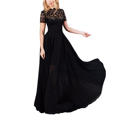 Waiji Maxi Maxi Dress High Quality maxi dress lace evening prom gown formal dresses with high quality in