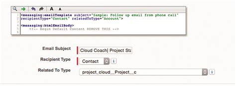 visualforce email template merge fields easily standardize project communications using salesforce