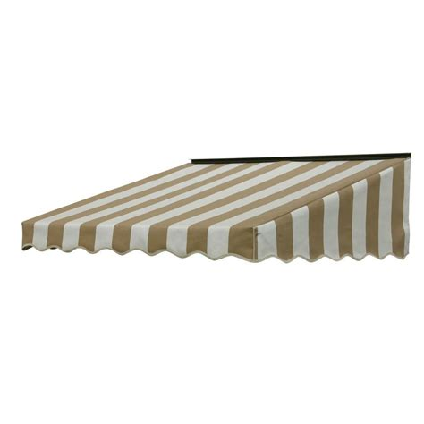 awning home depot nuimage awnings 3 ft 2700 series fabric door canopy 17