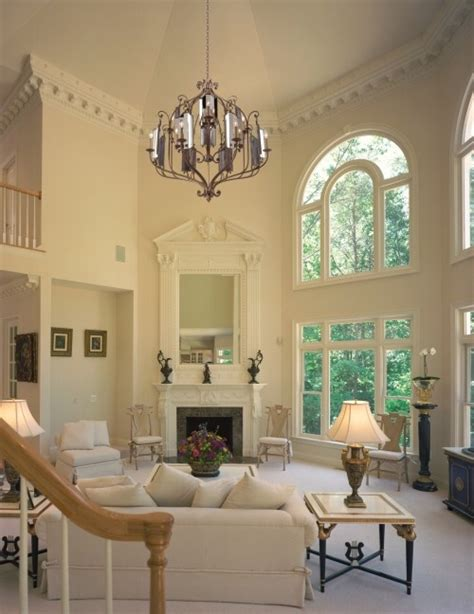 Living Room Decor High Ceilings 14 Best Images About High Ceiling Living Room On