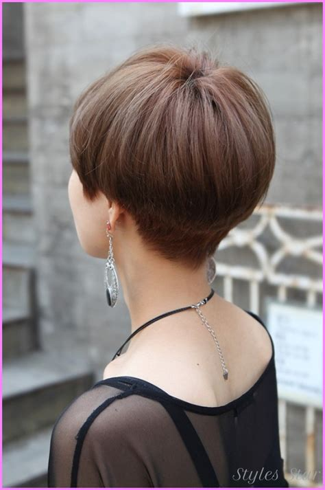 front back view short haircuts short to medium haircuts front and back stylesstar com