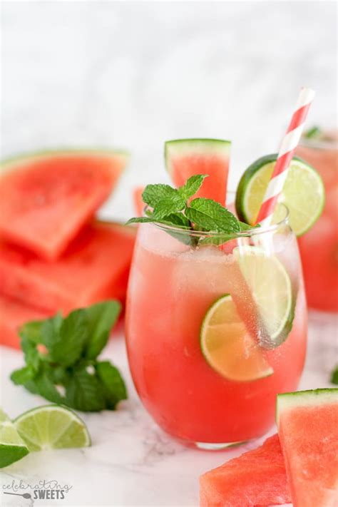 watermelon mojito watermelon mojitos