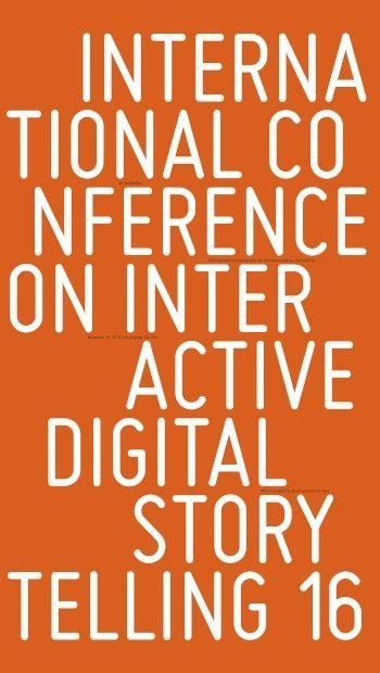 interactive storytelling 10th international conference on interactive digital storytelling icids 2017 funchal madeira portugal november 14 17 lecture notes in computer science books usc institute for creative technologies to host free