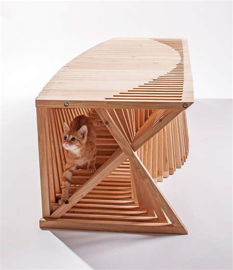 modern cat house 14 inspiring custom built modern cat houses revealed at la