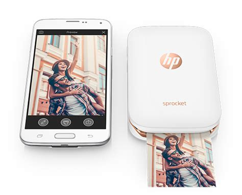 Hp Iphone Mini hp sprocket for iphone and android is a portable photo printer for millennials
