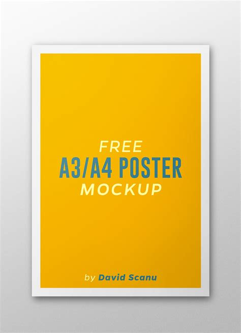 templates for a3 posters a3 a4 flyer poster mock up psd template free psd