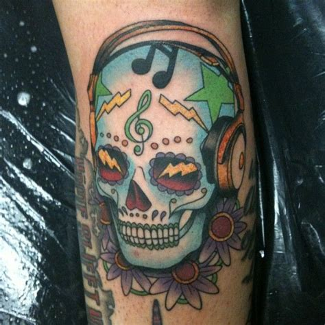 skull music note tattoo designs skull tattoos the o jays