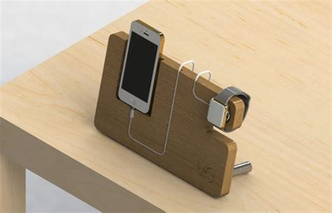 diy charging dock wooden apple watch dock and iphone charger apple iwatch