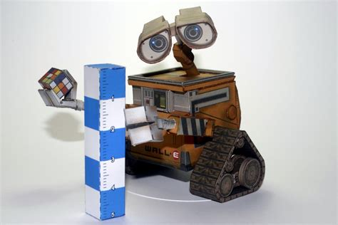 Wall E Papercraft - wall e from paper replika by airasumi on deviantart