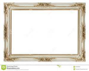Interior Design Program Free vintage frame on white background stock photography