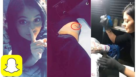 j cole tattoo jenner s new on snapchat