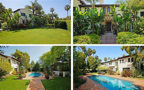 david schwimmer house former friends star david schwimmer lists l a mansion variety