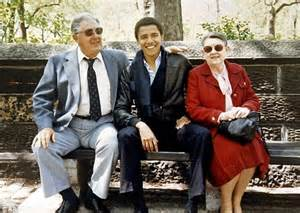 barack obama grandparents biography exclusive first picture of barack obama s first serious