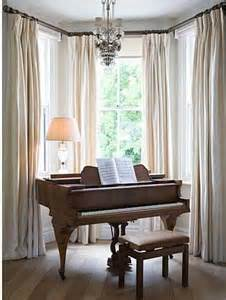 Images Of Bay Window Curtains Decor Dressing Bay Windows