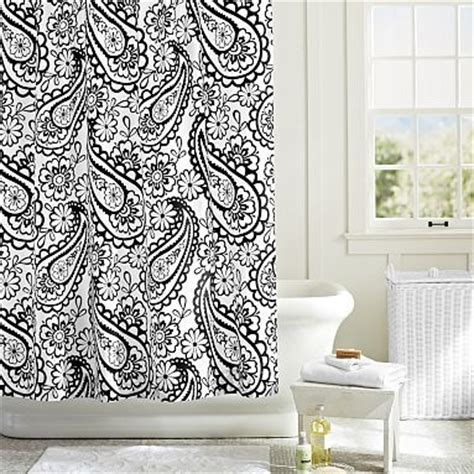 black and white paisley shower curtain 237 best bathrooms i love images on pinterest bathroom