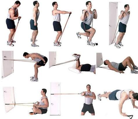 resistance band workouts best home workout equipment to build in your home
