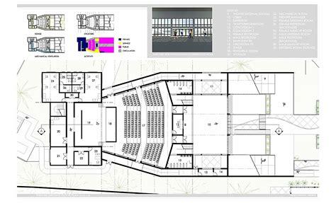 cultural center floor plan nassau community cultural center randy seraphin archinect