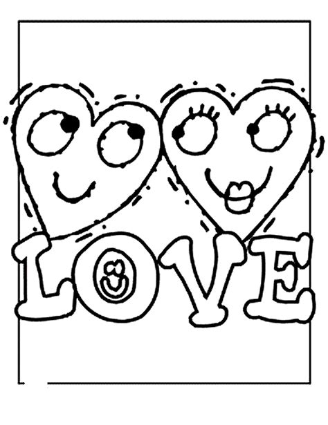 valentine s day coloring part 2