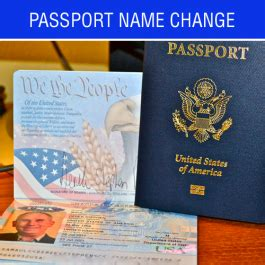 Passport name change foreign marriage certificate