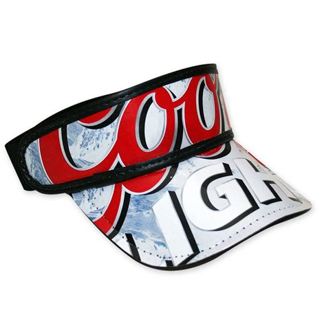 hats with lights in visor coors light box visor hat free shipping