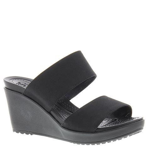 crocs leigh ii 2 wedge s sandal ebay