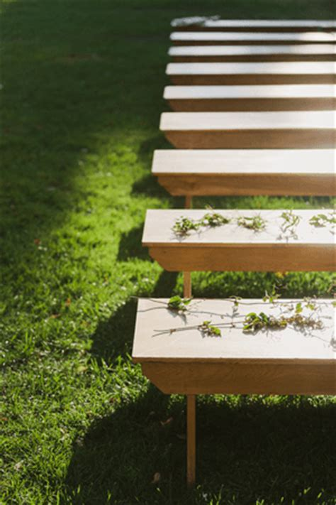 Romantic Outdoor Wedding with Bash Please   Once Wed