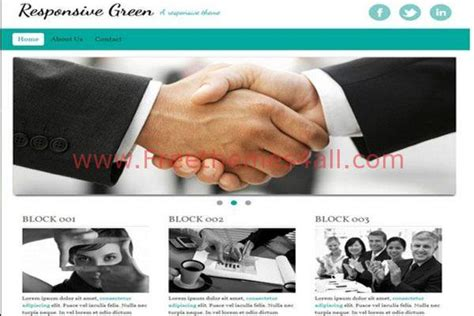 drupal themes responsive green free clean green drupal responsive theme freethemes4all
