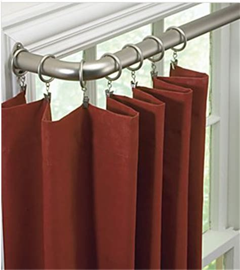 Curtain Rods For Inside Window Frame Curtain Rods Style Types Material And Design
