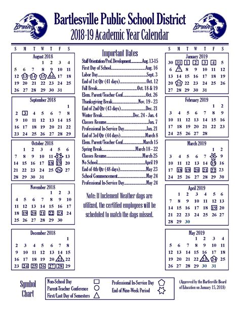 2015 16 academic calendar template 69 infantry