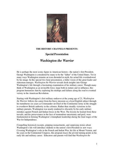 biography george washington american revolutionary viewing quiz george washington study guide