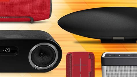 best speakers best bluetooth speakers pcworld